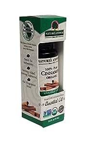 Nature's Answer 100 Percent Pure Organic, Cinnamon Essential Oil, 0.50 Ounce