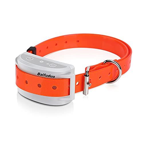 Bark Collar Anti Bark Control Device, Vibration Sound Wave Bark Deterrent, Small and Medium Sized Large Dog Bark Control Training Collar, Safe & Humane - Rechargeable