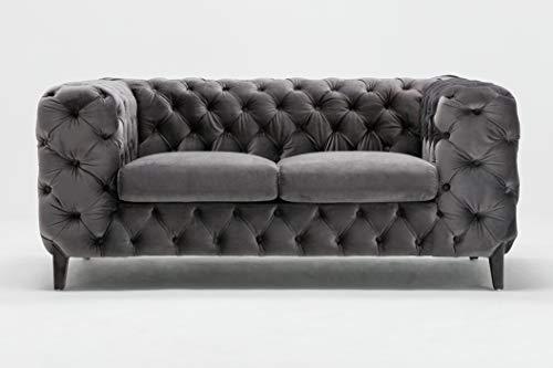 - Ceets LS012-GY Bentley Loveseat Love Seats, Gray