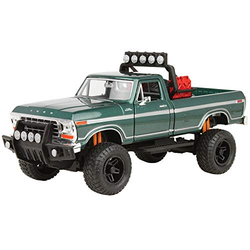 (FAIRFIELD COLLECTIBLES 1979 Ford F-150 Off Road Die Cast - 1:24 Scale - Adult Collectible and Metal )