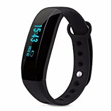 Aicarey V2 Wristband Intelligent Reminder IP65 Waterproof Anti lost Alarm Sports Record Smart Wristband Band for Android Phone