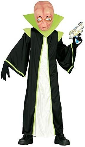 Girls Boys Green Space Alien Sci Fi Film Book TV Fancy Dress Costume Outfit 3-12 Years (7-9 Years)