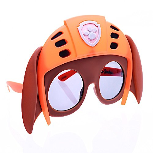 Zumba Costumes For Halloween (Sun-Staches Costume Sunglasses Zuma Paw Patrol Party Favors)