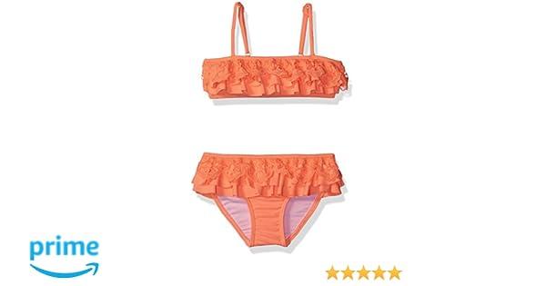 48ca84ff06bc3 Amazon.com: Seafolly Little Girls' Luau Lu Mini Tube Bikini, Rock Melon, 2:  Clothing