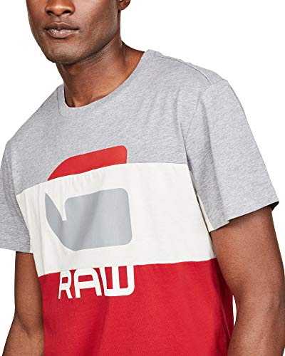 Homme star G Raw shirt Graphic 41 Rouge T YqgRqdS
