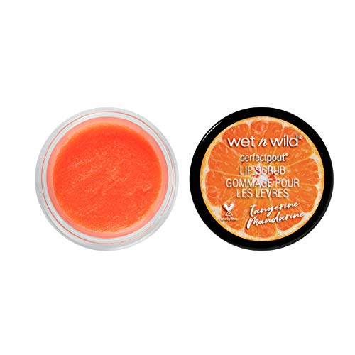 wet n wild Perfect Pout Lip Scrub, Tangerine Mandarine, 0.35 Ounce
