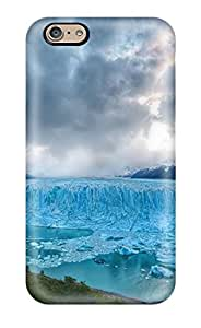 ZippyDoritEduard Case Cover Protector Specially Made For Iphone 6 Frozen Lake