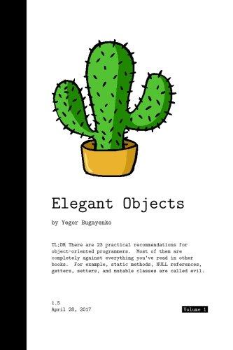 Elegant Objects (Volume 1)