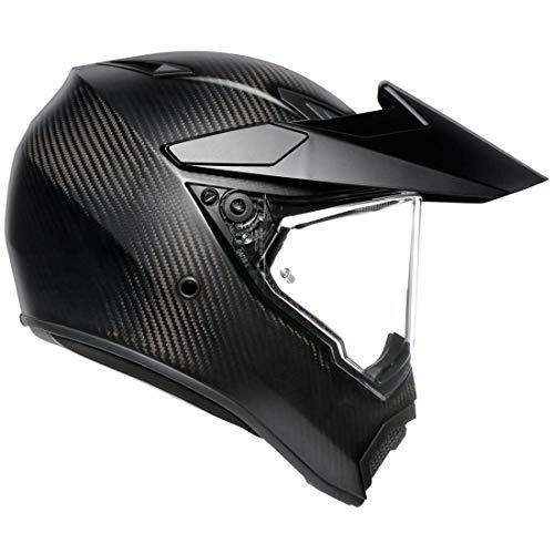 AGV AX9 Street Motorcycle Helmet - Matte Carbon - XL - Extra Large
