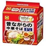 東洋水産 昔ながらの中華そば 5食パック×6袋  ヒガシマル袋めん1パック