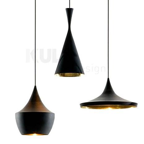 Conjunto de 3 lámparas de techo Beat Style Negras ...