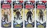 Walking Dead Comic Book Series 5: Neegan, Glenn, Shane, & Lydia Action Figure Set of 4