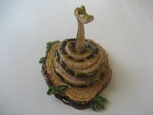 Disney pequeño Reino figura coleccionable Kaa serpiente de