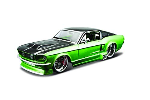 Maisto 1:24 Scale All Star Assembly Line 1967 Ford Mustang GT Diecast Model Kit - Colors May Vary (Cheap Kit Cars To Build For Sale)