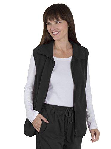 Manteau bleu Large Noir XX manche Fashion Friendly Blouson bleu sans Femme x588Yzwv