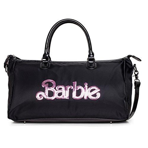 Barbie Borsa da Viaggio con Paillettes e lAlfabeto a Tracolla e a Mano dalla serie di Fashionistas Colore Nero #BBFB601.01A