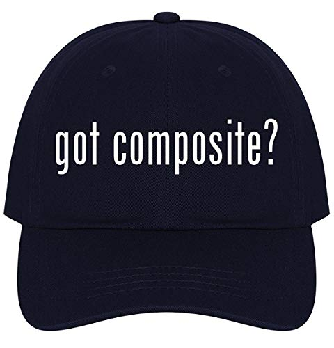 The Town Butler got Composite? - A Nice Comfortable Adjustable Dad Hat Cap, Navy (Best Composite Decking 2019)