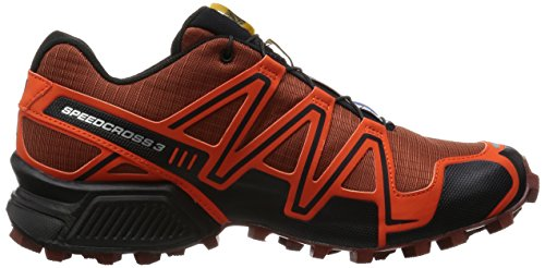 Red Deep Traillaufschuhe Tomato Black Salomon Speedcross 3 Rot Red Herren SqxWFAwX8
