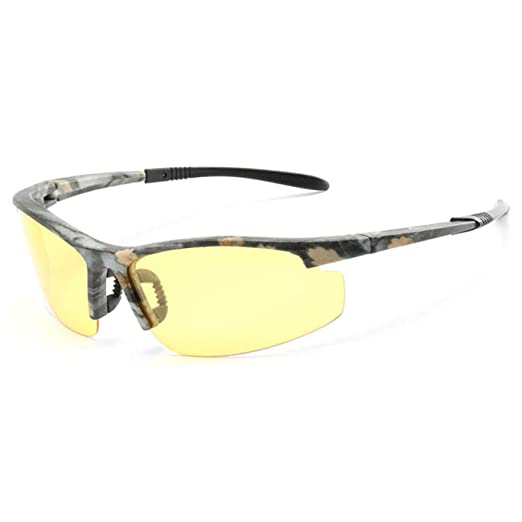 Yangjing-hl Hombres Gafas de Sol de camaleón de conducción ...