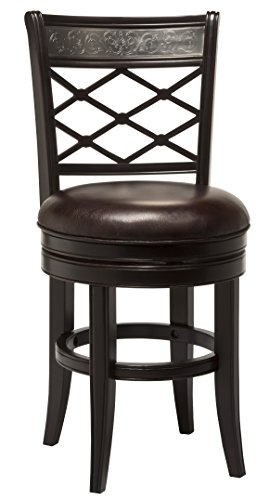 Hillsdale 5099-830 Spalding Swivel Bar Stool, Espresso