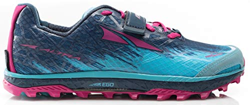 (Altra AFW1852G Women's King MT 1.5 Trail Running Shoe, Blue/Raspberry - 8.5 M US)