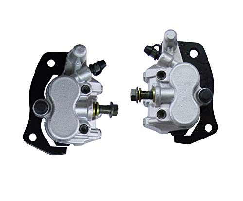Hity Motor Front Brake Caliper Left and Rignt Set With Brake Pads For YAMAHA UTV RHINO 700 YXR 700 2008-2011 RHINO 660 YXR 660 2004-2007 Rhino 450 2006-2009 (Utv Rhino Yamaha)