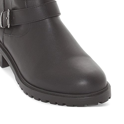 Boots Redoute La Collections Donna Stile Nero Motociclista qtxaTvZw