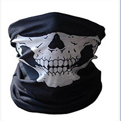 nicebuty Fashion polvo Máscara esqueleto fantasma máscara de diseño de calaveras motorista de deber Cos Disfraz Juego Negro Drop Shipping
