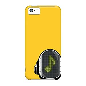 Tpu Case Cover Compatible For Iphone 5c/ Hot Case/ Daft Punk 2