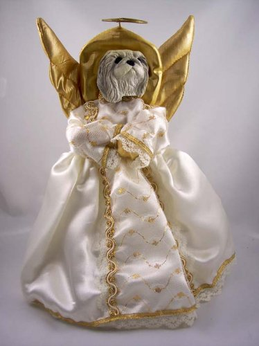 Conversation Concepts Pekingese Angel Tree Topper