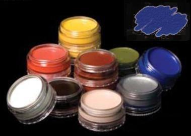 Cinema Secrets Cream Makeup, 0.125 oz, (Blue Cream Makeup)