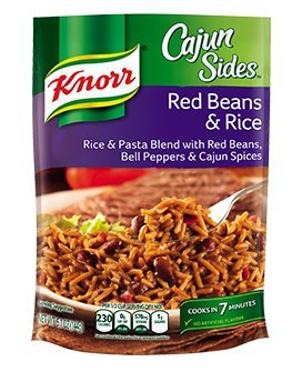 Cajun Small Red Beans - Knorr Cajun Sides Red Beans and Rice 5.1 oz (Pack of 6)