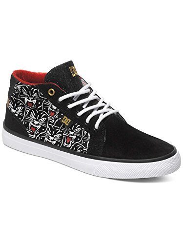 black Dc Donna Shoes Sneaker Print Nero nqfpIvq
