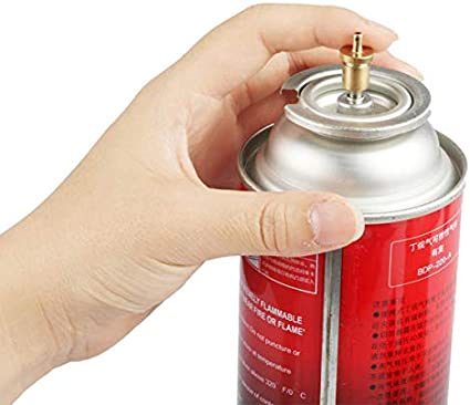 LAOTIE Outdoor Camping Cooking Stove Long Gas Bottle Inflate ...