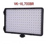 LED Video light,Zonman® Voking VK-VL700BR High Power Panel LED Light for Canon, Nikon, Pentax, Panasonic SONY Samsung and Olympus Digital SLR Cameras (VL700BR)