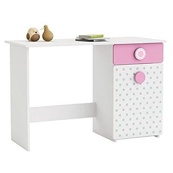 escritorio blanco rosa verde b cm de ordenador mesa escritorio de oficina escritorio