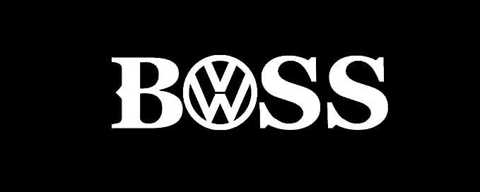 Amazon Boss VW Decal Sticker Euro Volkswagen VDub Gti Fukenmuven Automotive