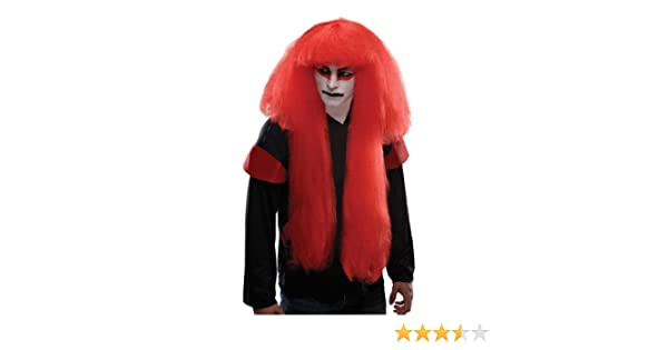 Rubies - Peluca para disfraz de Kabuki para hombre, multicolor ...