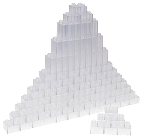 Strictly Briks Classic Big Briks by Building Brick Set 100% Compatible with All Major Brands | 3 Large Block Sizes For Ages 3+ | Premium Clear Building Bricks | 84 Pieces