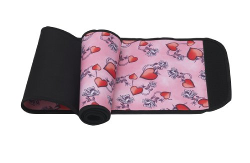 Belly Bandit Ceintures de Grossesse Noir With Pink Hearts XL
