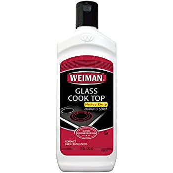 Amazon Com Weiman Glass Cook Top Cleaner 10 Fl Oz 6
