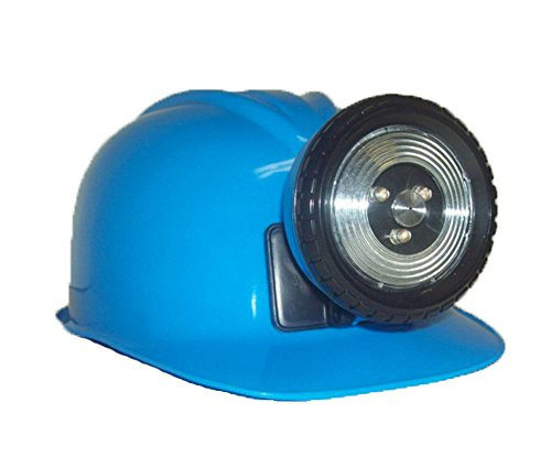 Childrens Construction Lighted Miner Hard Hat Bright
