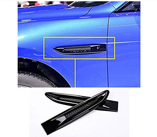 MAVMAX for Jaguar XF XFL XE F-Pace F pace X761 ABS Side Fender Air Vent Outlet Cover Trim Accessories