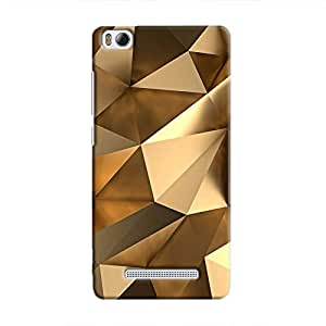Cover It Up - Gold Angles Mi4i Hard Case