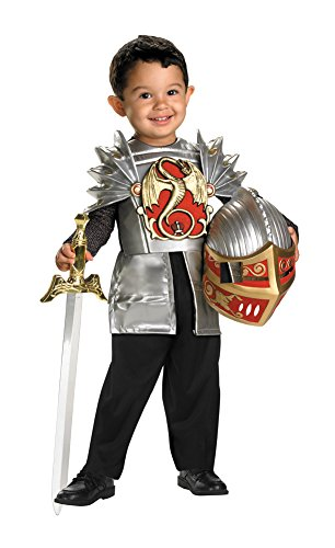 Knight Of The Dragon Toddler Costume 3T-4T - Toddler Halloween (Toddler Unique Costumes)