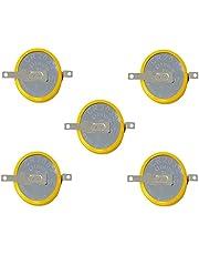 Eunicell 5 x F2-CMOS batterij/batterij BIOS BR / CR2032-1F2 met soldeerlip 3V voor PC wegwerp v