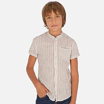Mayoral Camisa Manga Corta Cuello Mao niño Modelo 6148: Amazon.es: Ropa y accesorios