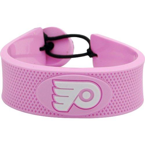 Philadelphia Flyers NHL Pink Hockey - Pink Bracelet Nhl Hockey