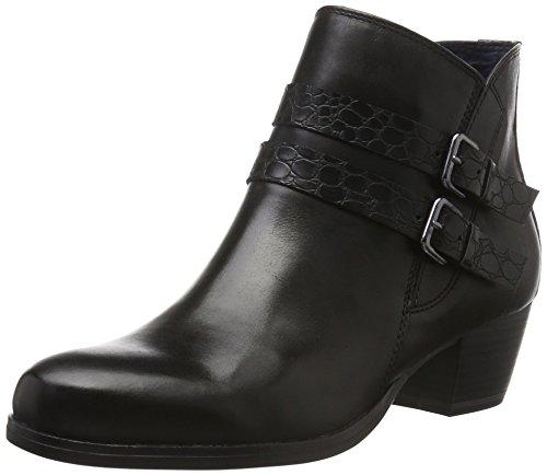 001 Mujer BLACK Negro Tamaris para Botines 25319 t1qfYO