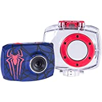 Spiderman Action Camera with Accessories with 1.8-Inch LCD Screen, 78646